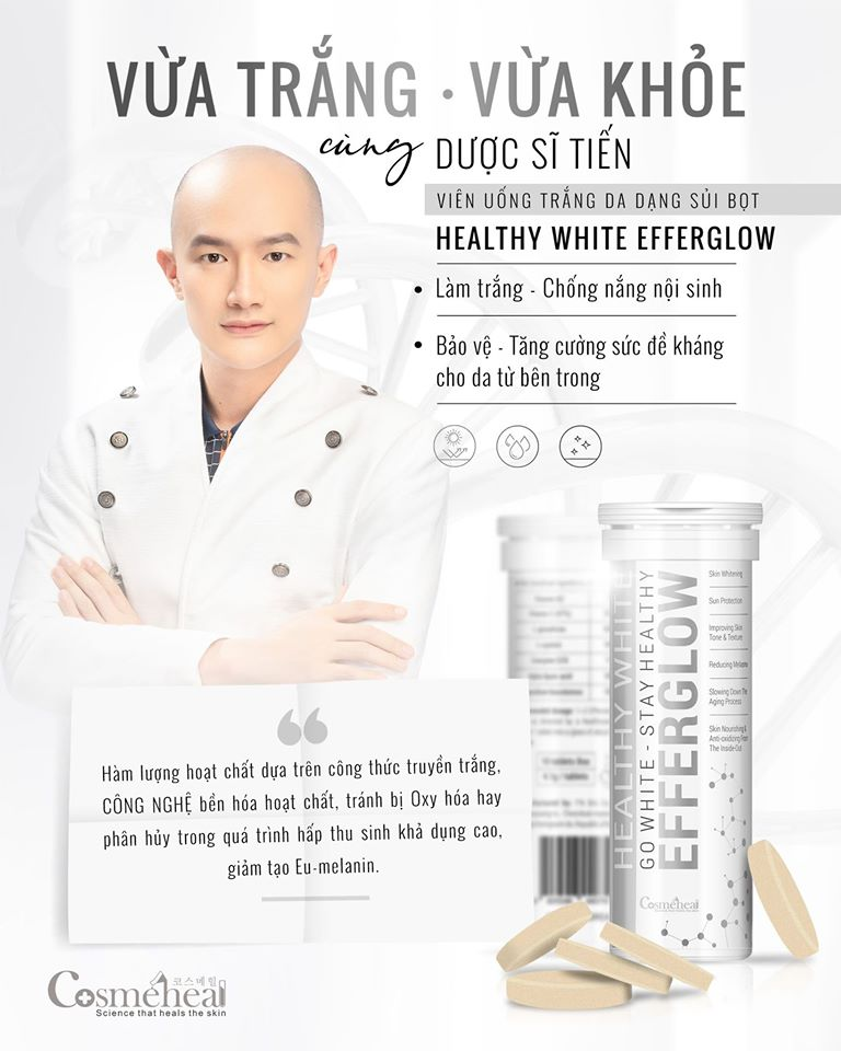 Công dụng  HEALTHY WHITE EFFERGLOW