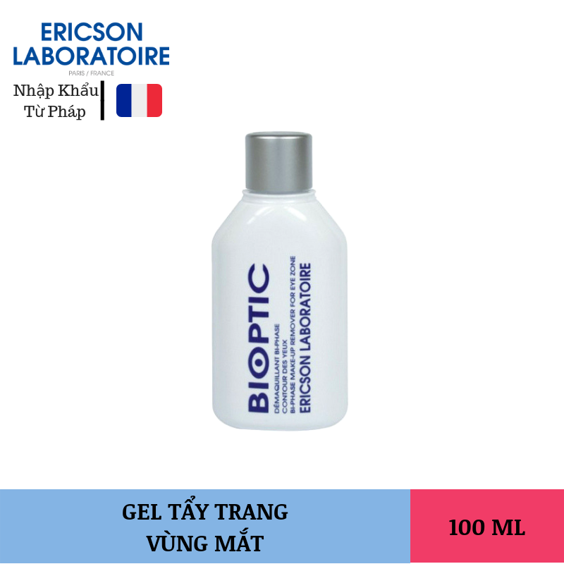 Tẩy Trang Vùng Mắt Ericson Bio Optic Bi Phase Make Up Remover 100ml